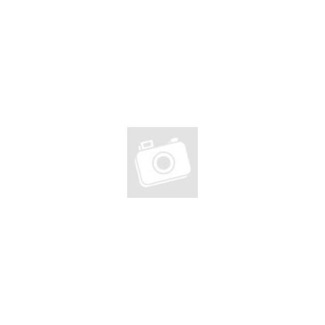 Baby: PIQUE - Fehér hosszú ujjú body fehér/szürke gallérral (12 hó)