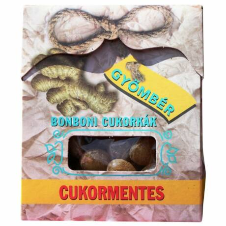 Bonboni Gyömbéres CUKORMENTES Cukormentes 75G